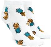 Forever 21 FOREVER 21+ Pineapple Ankle Socks