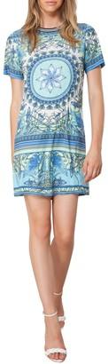 Hale Bob Printed Mini Dress