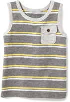 Old Navy Striped Muscle Tank for Toddler
