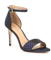 Antonio Melani Pierrson Jacquard Ankle Strap Pumps