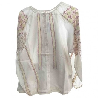 Princesse Tam-Tam Beige Cotton Top for Women