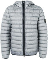 Stone Island hooded padded jacket - men - Polyamide/Polyurethane Resin - M