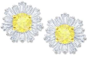 Swarovski Crystal Sunshine Stud Earrings