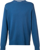 Marni contrast top stitch sweater - men - Cashmere - 44