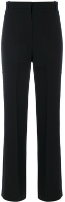 Victoria Victoria Beckham Scalloped Edge Trousers