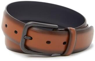 Original Penguin Burnished Leather Belt