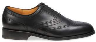 Jm Weston Cyclist decor perforations leather sole Brogues