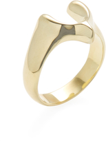 Good Charma Women's Wishbone Ring