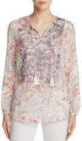 T Tahari Cierra Floral Print Blouse