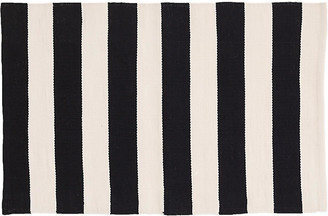 Dash & Albert Catamaran Indoor/Outdoor Rug - Black/Ivory 5'x8'