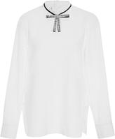 Marni Embellished Bow Blouse