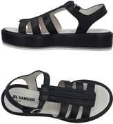 Jil Sander Navy Sandals - Item 11323538