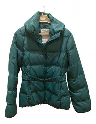 Benetton Green Polyester Coats