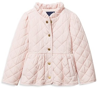 Janie and Jack Baby's, Little Girl's & Girl's Quilted Barn Jacket
