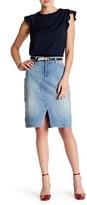 NYDJ Emma Stretch Denim Skirt