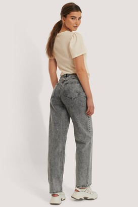 NA-KD Wide Leg Denim