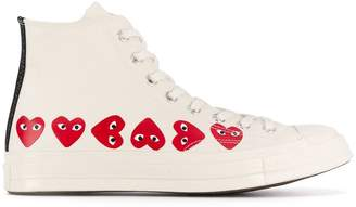 Comme des Garcons x Converse Chuck Taylor high-top sneakers