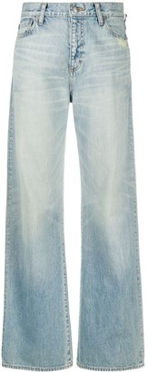 Simon Miller High-Waisted Flared Jeans