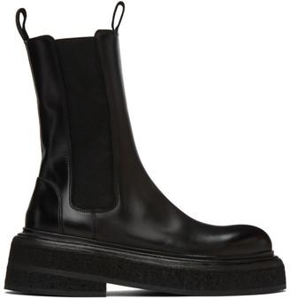 Marsèll Black Zuccone Chelsea Boots