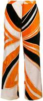 Emilio Pucci patterned cropped trousers