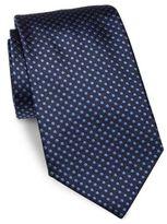 Giorgio Armani Dual-Tone Dotted Silk Tie