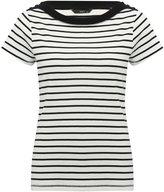 M&Co Stripe print bardot top