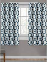 Home Outfitters Kochi Linen Blend Window Curtain Panel Pair with Grommet Top