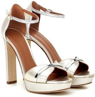 Malone Souliers Miranda 125 leather platform sandals