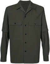 Lemaire detachable sleeves shirt - men - Cotton - 46