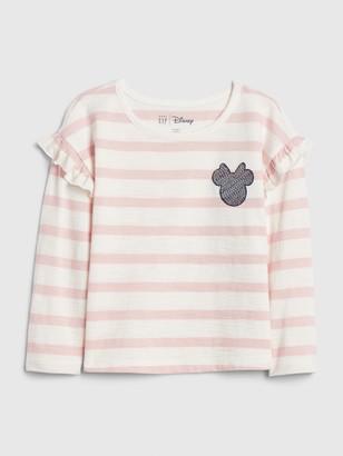 Disney babyGap   Minnie Mouse Ruffle T-Shirt