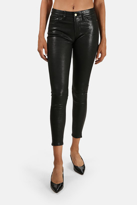 Frame Le High Leather Skinny Pant