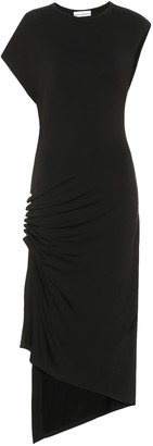 Paco Rabanne Stretch jersey midi dress