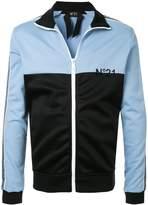 No21 colour block track jacket