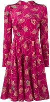 Valentino floral dress - women - Silk - 40
