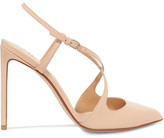 Francesco Russo Patent-leather Pumps - Beige