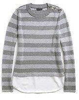 Tommy Hilfiger Women's High Neck Striped Sweater