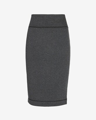 Express High Waisted Reversible Pencil Skirt