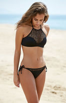 Reef High Neck Halter Bikini Top