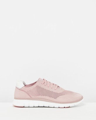 Vionic Women's Pink Low-Tops - Joey Casual Sneakers - Size One Size, 5 at The Iconic