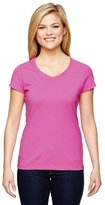 Champion Vapor Women`s V-Neck Cotton Tee, T050, L