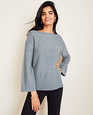 Ann Taylor Cable Stitched Sweater