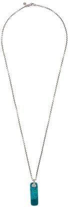 John Hardy Classic Chain Chrysocolla pendant necklace