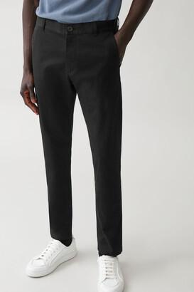 Cos Cotton Slim-Leg Chinos