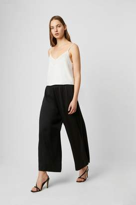 French Connection Alessia Satin Wide Leg Culottes