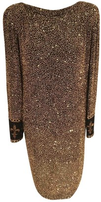 Bob Mackie Multicolour Silk Dress for Women Vintage