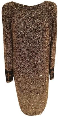 Bob Mackie \N Multicolour Silk Dress for Women Vintage