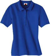 Hanes Women's Stedman Cotton Pique Polo (Set of 3)