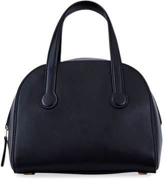 The Row Sporty Bowler 9 Bag in Smooth Leather