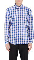 Barneys New York MEN'S BUFFALO-CHECKED COTTON DRESS SHIRT