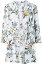 Dorothy Perkins Womens Petite Multi Coloured Botanical Floral Print Coat